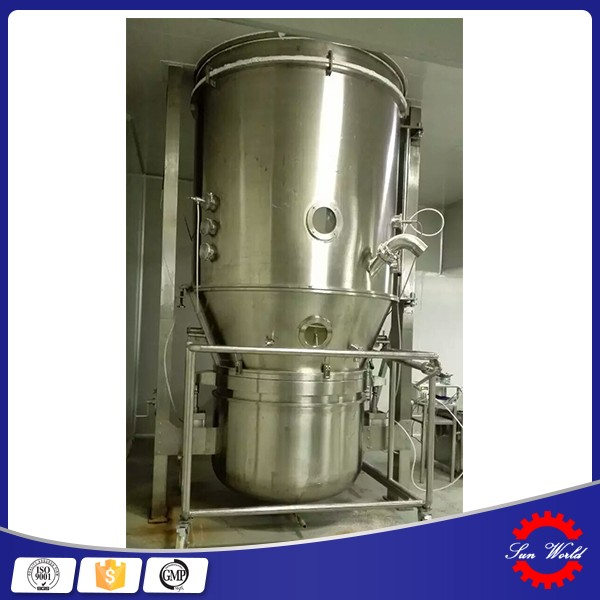 Factory Price fluid bed granulator/drier/coater