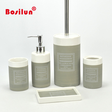 New Design Ceramic Bathroom Set And Accessories For Decor And Gift