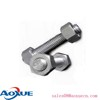 double end threaded studs in rigging hardware,zinc finish