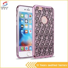 China manufacturer wholesale super luxury hybrid case for iphone 6