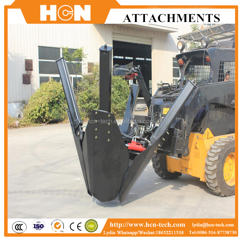 HCN 0503 HCN 0503 tree transplanter mover for bob cat