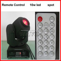 WLEDM-14-2 new remote control 10W LED spot gobo moving head professional sound and light systems