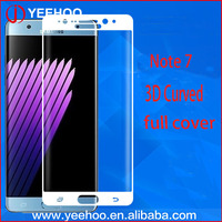 Mobile Phone asahi tempered glass Screen Protective Film For Samsung Galaxy Note 7 Tempered Glass