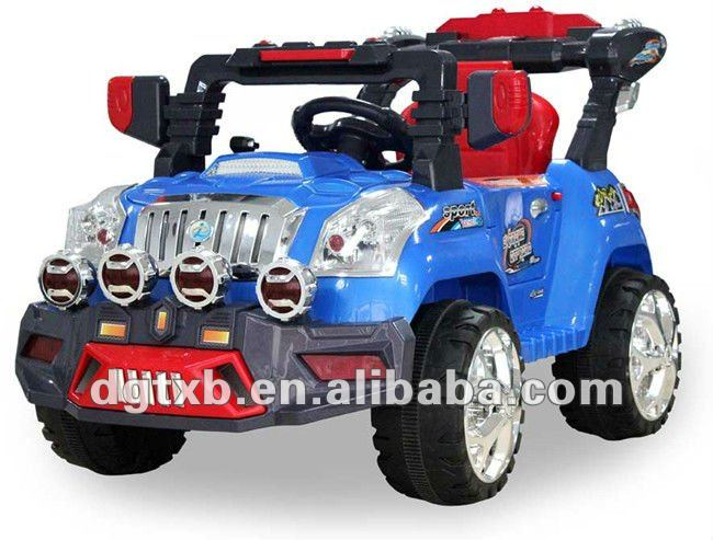 rc electric children toy jeep car 823 with MP3 music working lights remote control