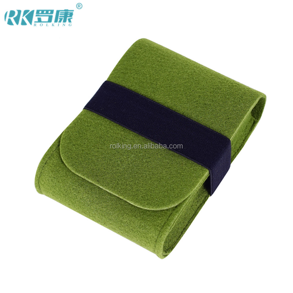 make to order high quanlity felt cell phone pouch felt mobile phone case