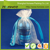 cosmetics/ gifts packing cheap mesh drawstring bag with care label