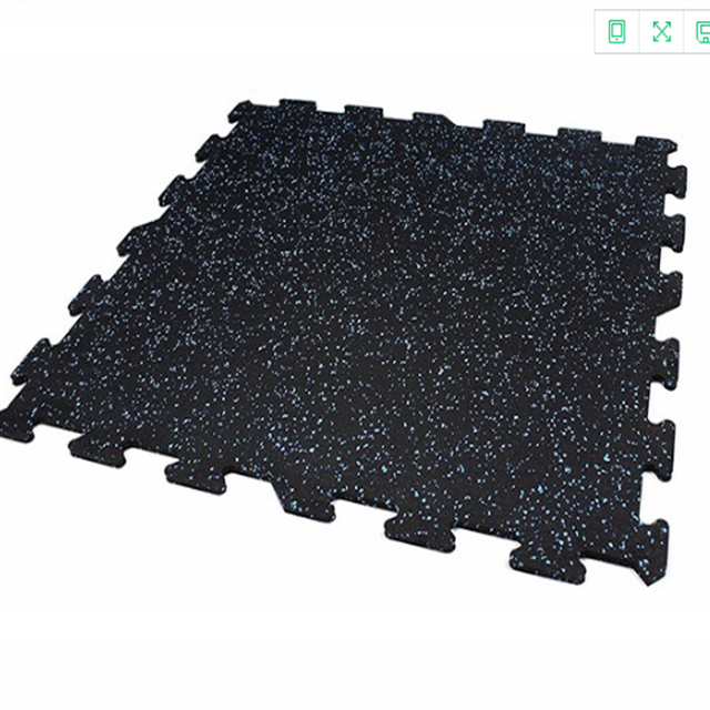 Gym Rubber flooring Mat for running track