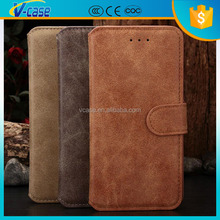 Alibaba china wholesale mobile phone leather wallet case cover bag For iphone 6