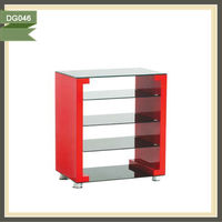 automatic rattan furniture wall unit designs lcd tv lift stand