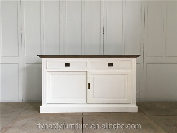 New designs furniture unique white modern sideboard buffet