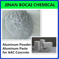 silver grey color aluminum powder, aluminum paste for aac concrete / gas added brick / light beton maker
