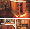 American style kitchen furniture kitchen cabinet