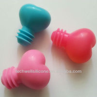 Hot selling colorful silicone water stopper