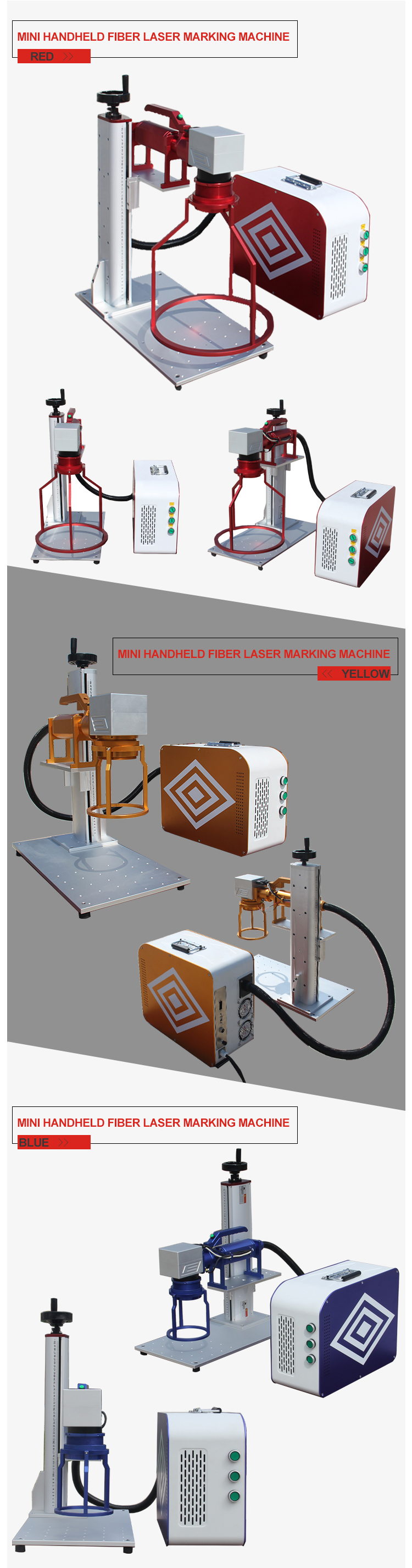 Handheld Portable Mini Fiber Laser Marking Machine