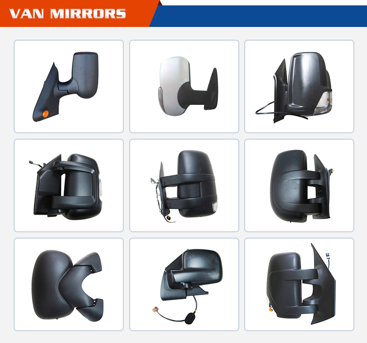 Side Complete Wing Mirror - Manual Control for FORD TRANSIT MK8 ( V363 VAN ) Trend (Excl. Custom & Chassis Cab) 2014 -> 2015