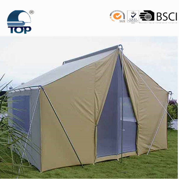 4 persons outdoor camping 2 room family tents with vestibules