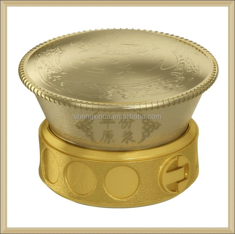 2015 Fashion custom Design metal perfume caps