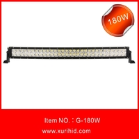 180W Double Row Curved Led Light Bar COOL one