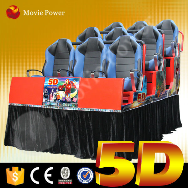 exciting surf simulator 9-seats 5d cinema 5d theater 5d movie