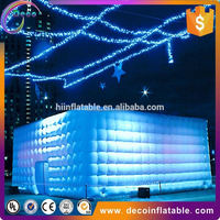 Outdoor Advertising Inflatable Cube Camping Tent