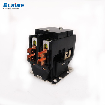 Elsine ac air contactor magnetic CJX9 style air conditioner 240V 2pole
