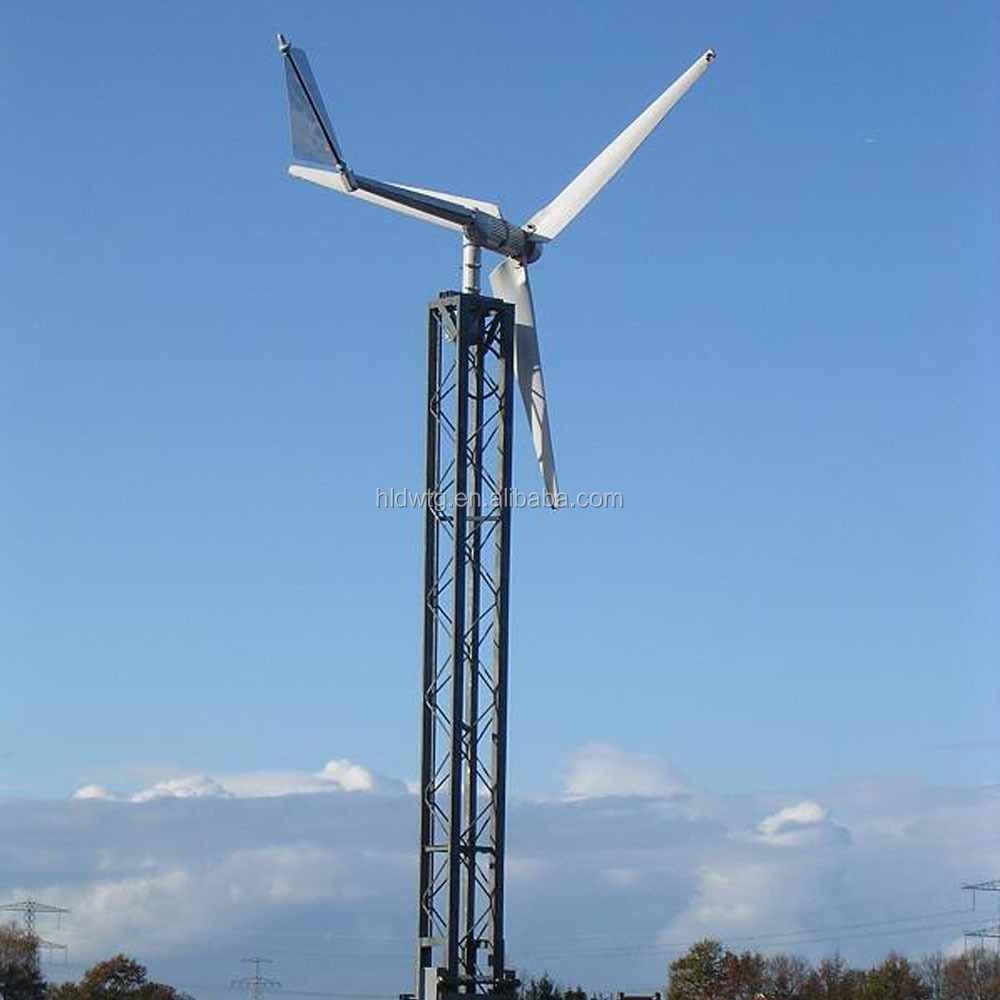 High Return! household wind generator 2500w with small wind turbine for aerogenerator 2.5kw