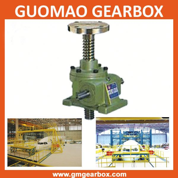 Worm gear screw manual scissor jack