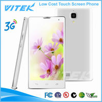 Low cost touch screen 5 inch MTK6572 new models china Cell Phone