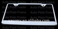 Texas Arizona New york california IL MN bulk metal license plate frames