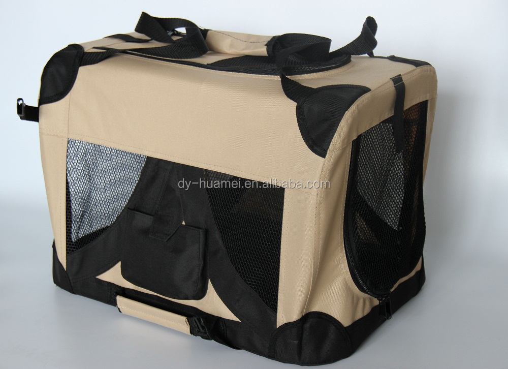 Hot sale Pet carrier Travel dog bag Foldable dog crate