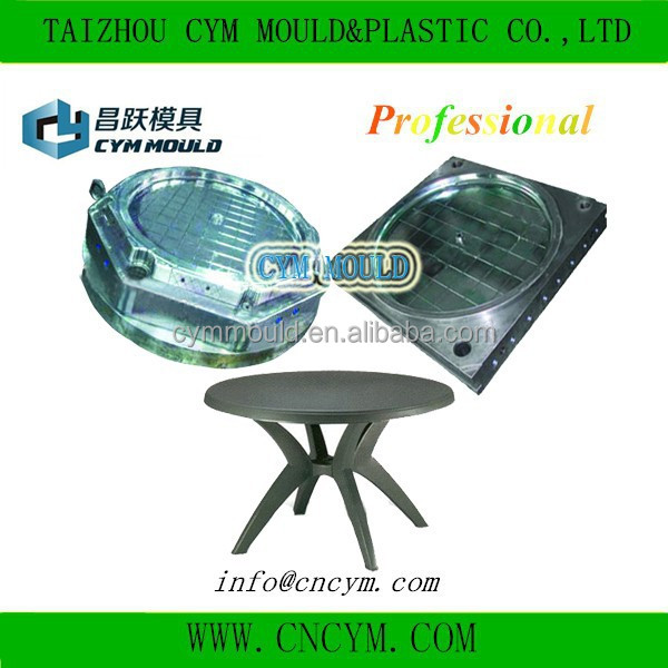high quality customer made plastic circular removable table mould