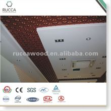 WPC Grid insulated ceiling tiles
