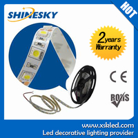 Epistar LED chips, CE&ROHS certificates led strips 5mm rgb