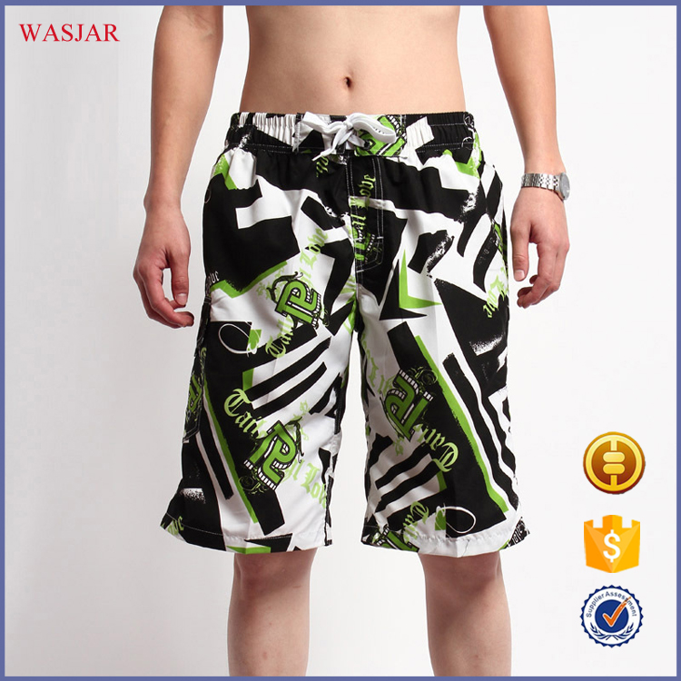 China Factory wholesale Swim Full Print Mens beach wear Short Beach Pants for sale