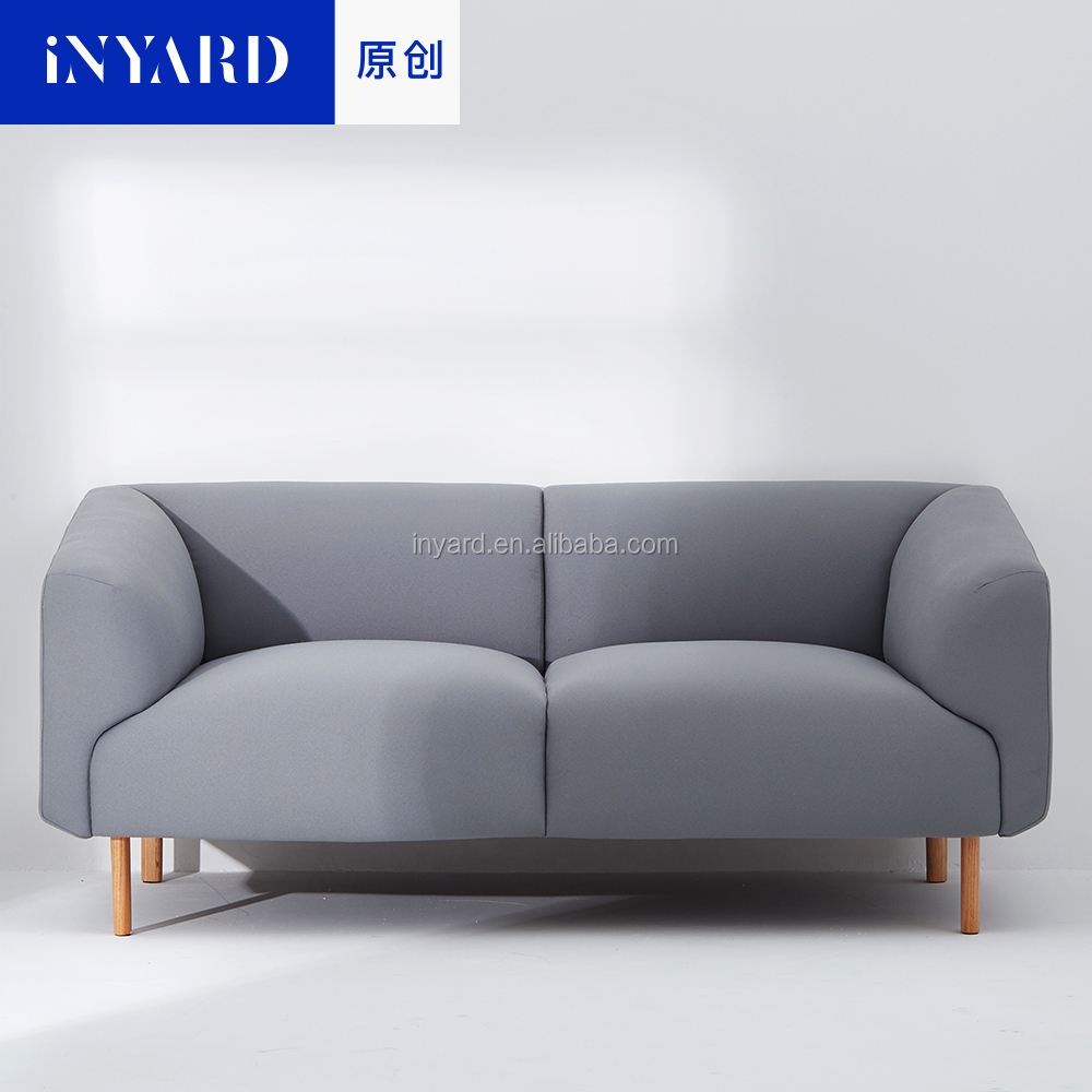 luxury sofa sets Two seat simple sofa designs with Gabriel modern fabric sofa solid wood legs modern scandinavian style