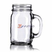 16 oz Clear Glass Mug 70-450G (Not For Canning or Hot Liquids)