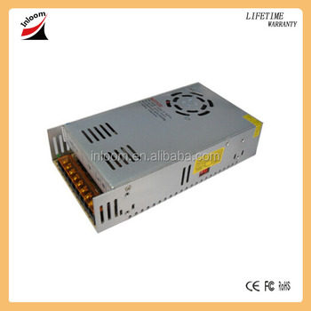 24v 16.67a 400w constant voltage LED power supply for LED strips,display with CE,ROHS approved
