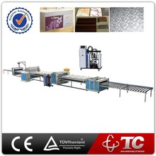 high efficiency woodworking mdf Particle board hot press laminating machine with high quality