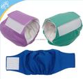 Wholesale Microfiber Breathing Reusable Washable Male Dog Diapers