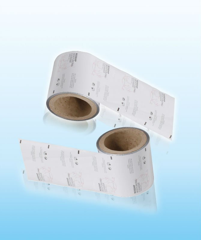 High quality printed laminated pet/al/pe plastic Shampoo pet film rolls