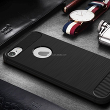 Fashion hot selling Cool Series Luxury latest Carbon Fiber soft TPU New phone Case back cover For Apple iPhone 6 6s plus
