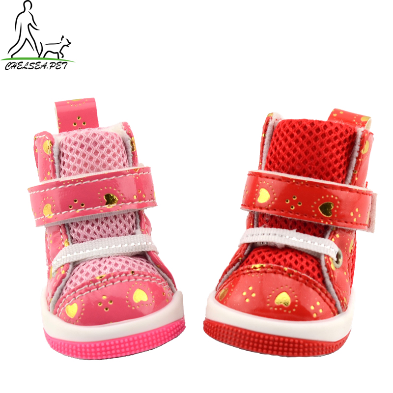 Casual beautiful running boots for dogs warm in winter