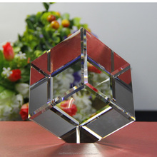 Factory Wholesame Blank 3D Crystal Cube