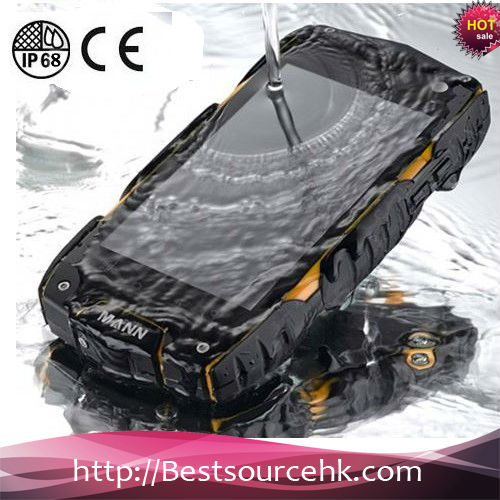 2015 IP68 android dustproof and waterproof mobile phone A18 with Wifi GPS
