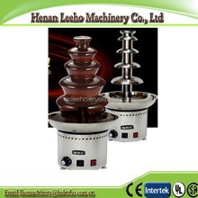 commericial five tiers chocolate fountain machine