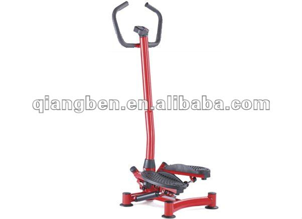 Multifunction stepper with twister/ab twister trainer
