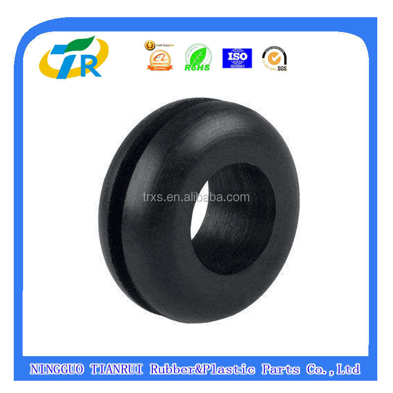cheap Flame retardant neoprene fire resistant rubber grommet/electrical grommets/Rubber Cable Grommets
