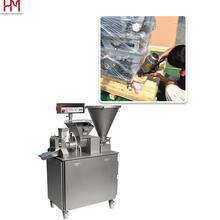 Factory price extrusion making machine,filled frozen momo machine