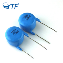 The Latest Radial 50v Leaded Multilayer Original 102m Ceramic Capacitor
