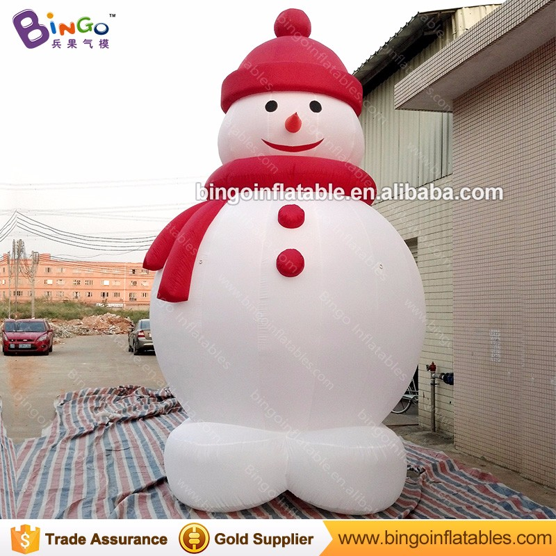 Christmas inflatable snowman air blown climbing Santa Claus for sale